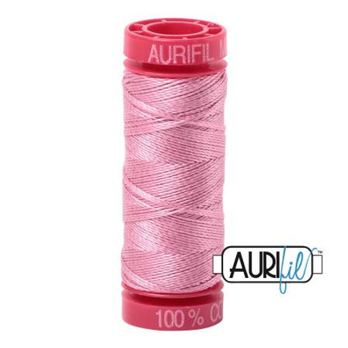 Aurifil 12wt Thread - Antique Rose