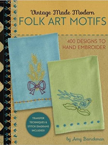 Vintage Made Modern Folk Art Motifs