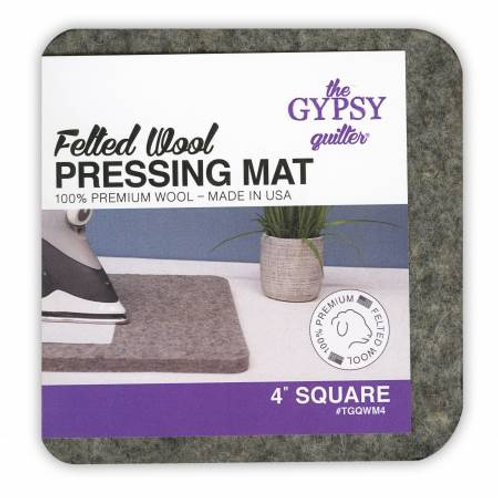 "Wool Pressing Mat 4"" Square"