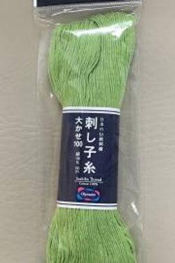 Olympus Sashiko Thread - Large Skein Green