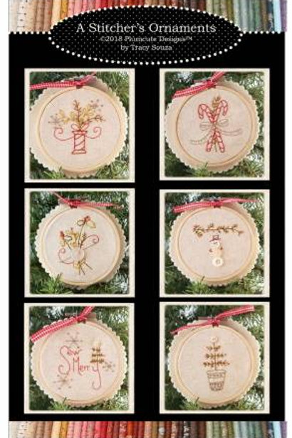 A Stitcher's Ornaments by Plumcute Designs