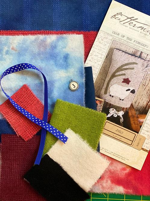 July Sheep Pin Cushion Kit