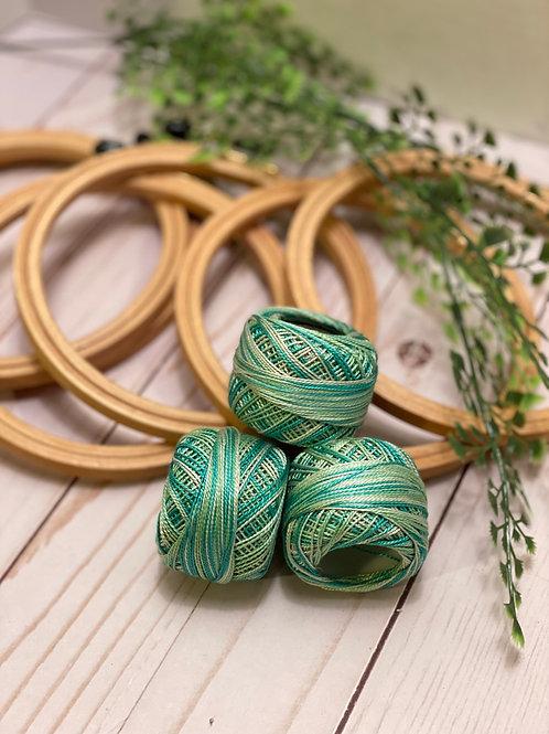 Wonderfil Perle Cotton - #8 - Lakefront 1048