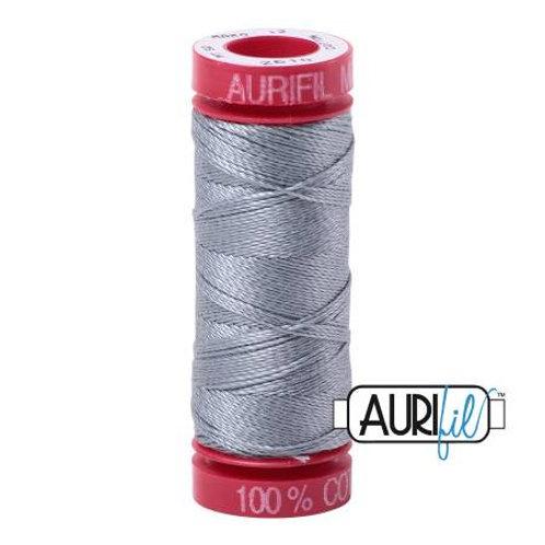 Aurifil 12wt Thread - Light Blue Gray