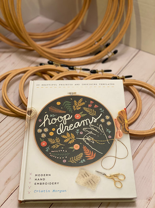 Hoop Dreams - Modern Hand Embroidery