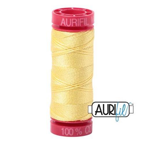 Aurifil 12wt Thread - Lemon