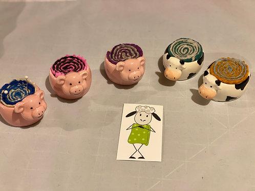 Stinkin Cute PinCushions - Pig or Cow