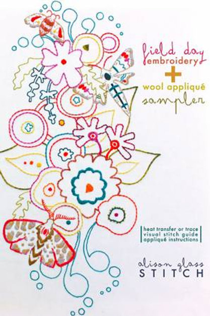 Alison Glass Stitch Field Day Embroidery