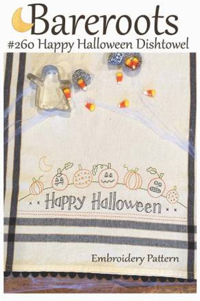 Bareroot Happy Halloween Dishtowel Kit