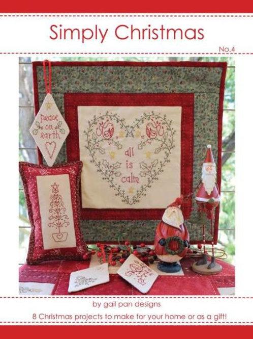 Gail Pan Designs Busy Simply Christmas Volume 4