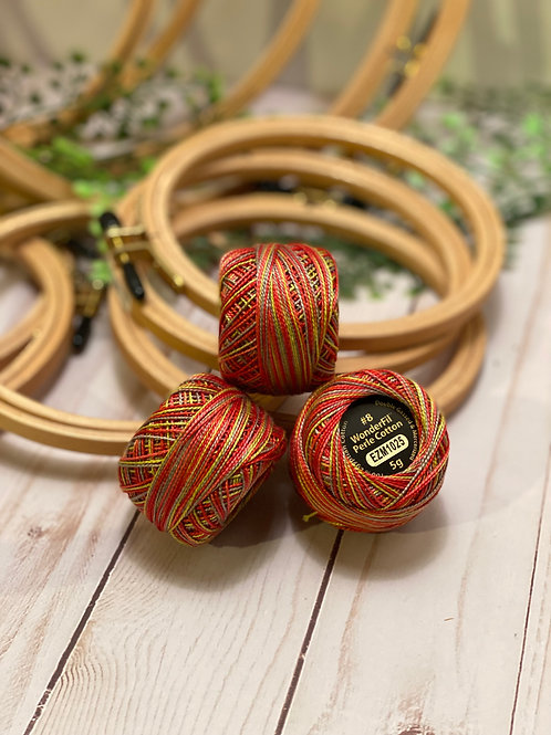 Wonderfil Perle Cotton - #8 - Dragon Fruit 1025