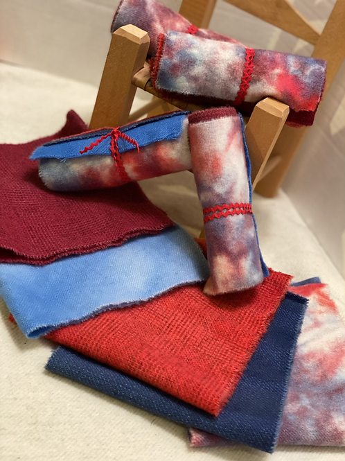 Wool Roll - Mini - 4th of July