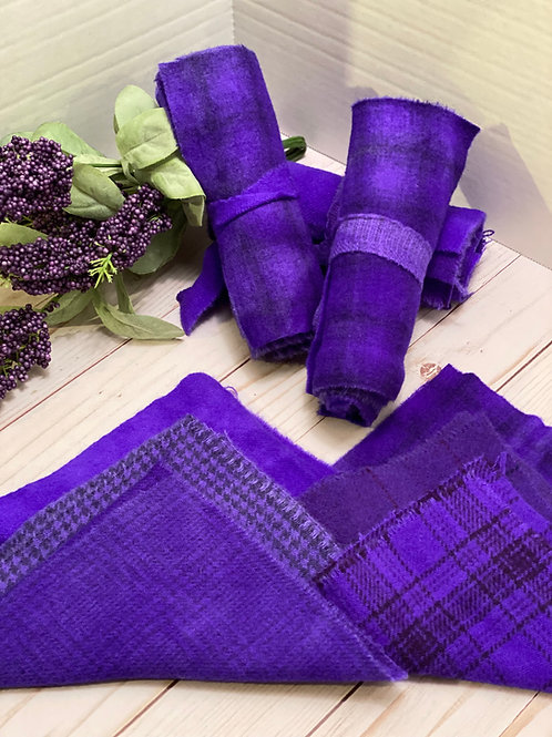 Wool Roll - Shades of Purple