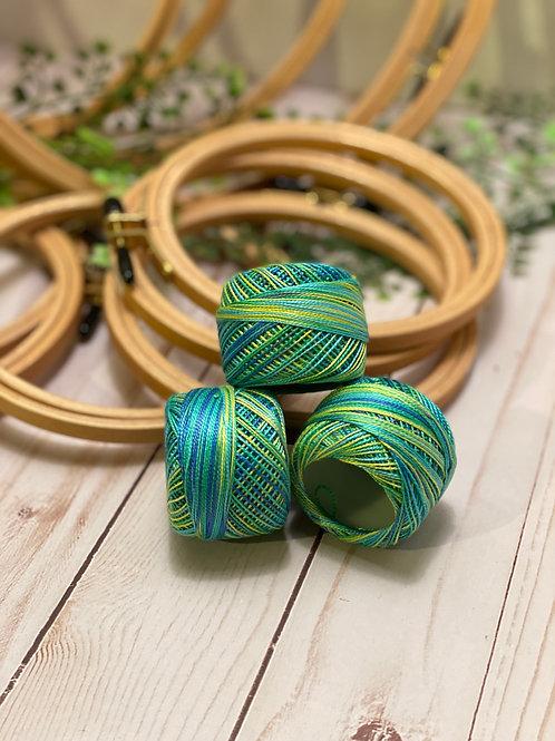 Wonderfil Perle Cotton - #8 - Seaside Cabana 1027