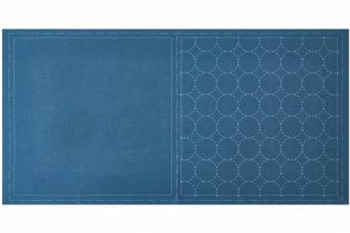 Lecien Pre-Printed Panel - Blue
