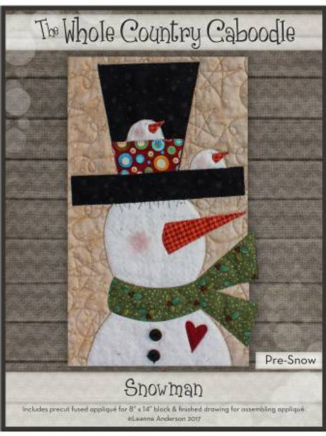Whole Country Caboodle - Winter - Snowman