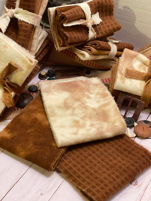 Wool Roll - Shades of Brown - Latte
