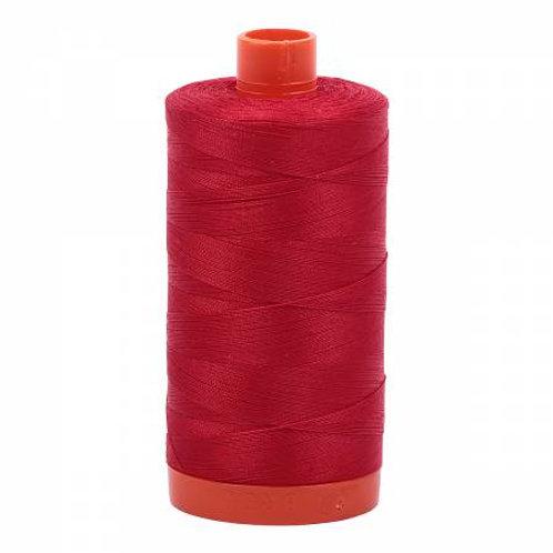 Aurifil 12wt Thread - Red - 2250