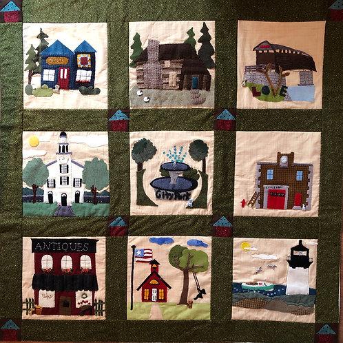 It Takes a Village - Dogville Quilt Kit