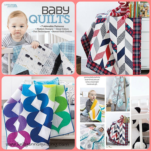 Baby Quilts by Susan Emory