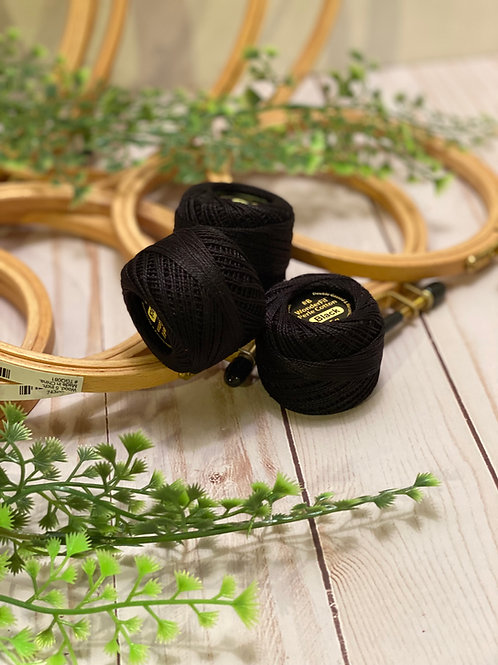 Wonderfil Perle Cotton - #8 - Black