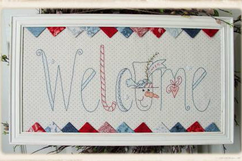 Winter Welcomes Hand Embroidery