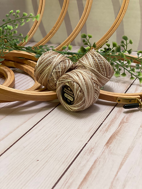 Wonderfil Perle Cotton - #8 - Linen 1030