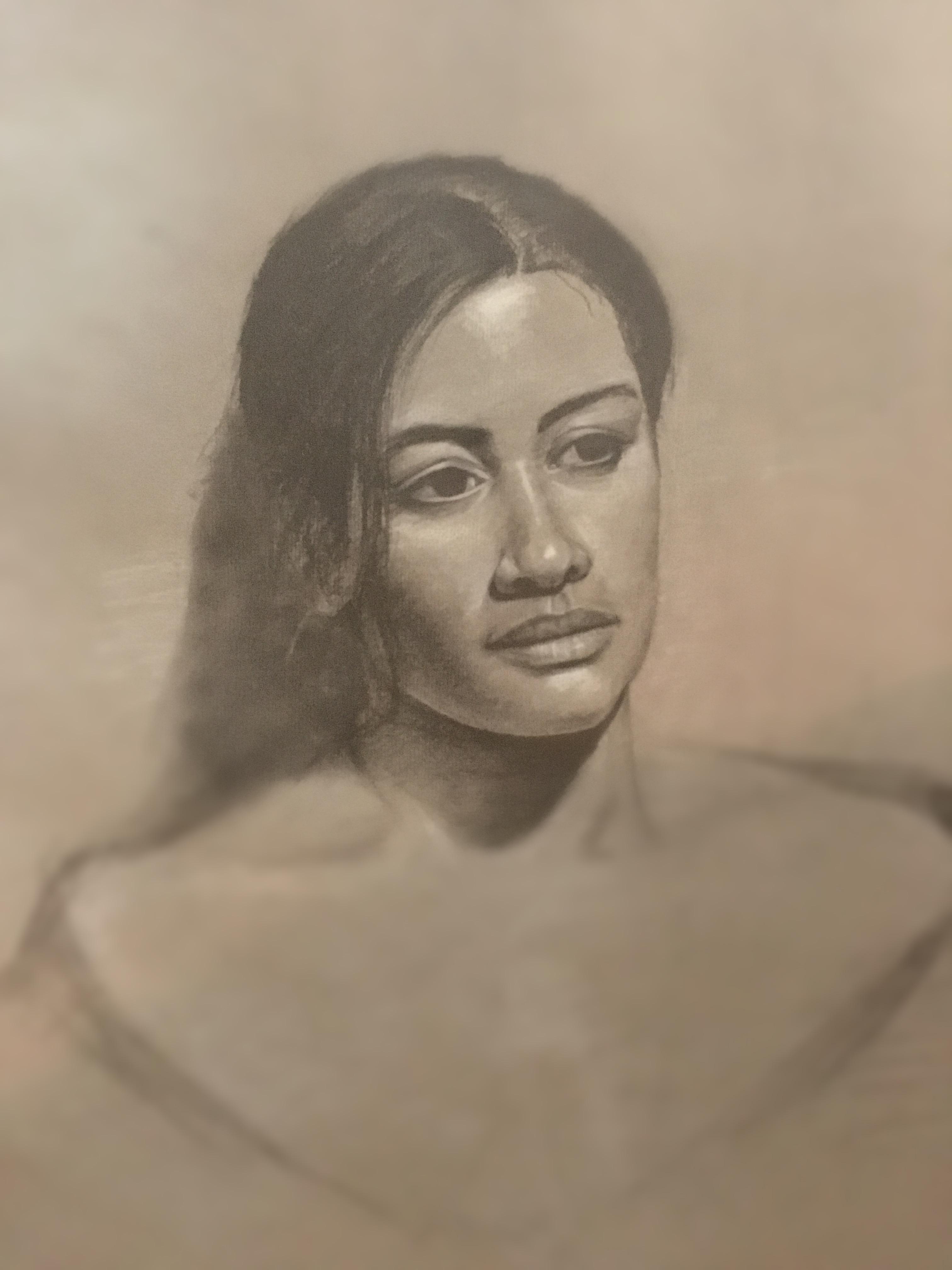Live Model Drawing IV