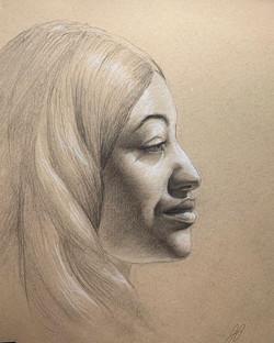 Live Model Drawing VII