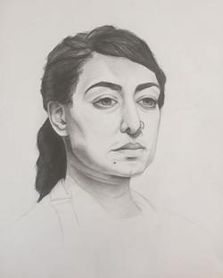 Live Model Drawing III