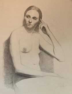 Live Model Drawing VIII