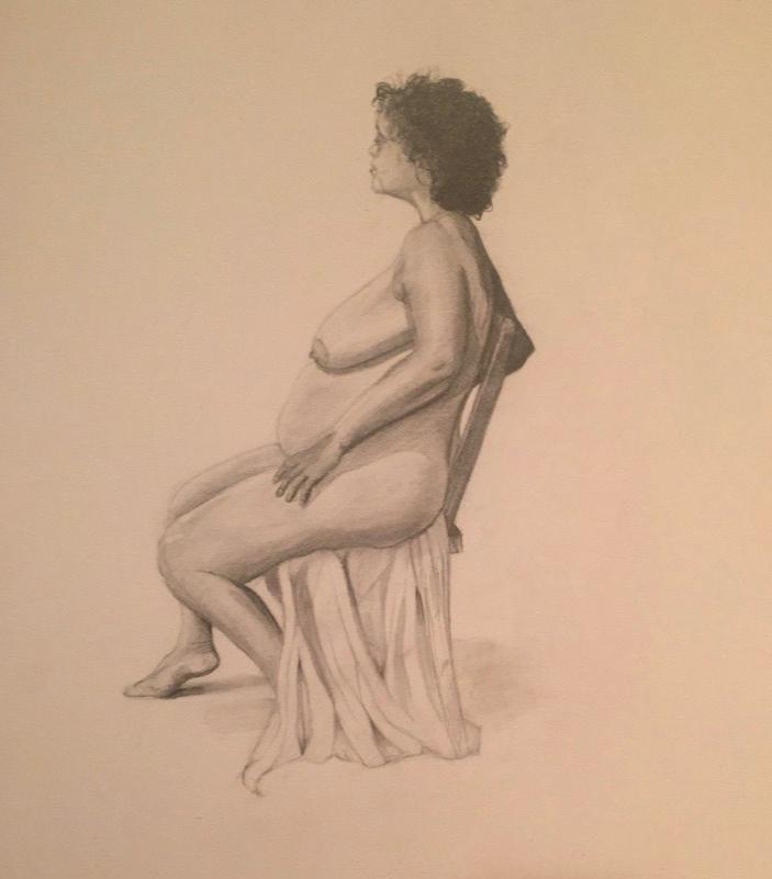 Live Model Drawing V