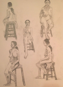 Live Model Sketch I
