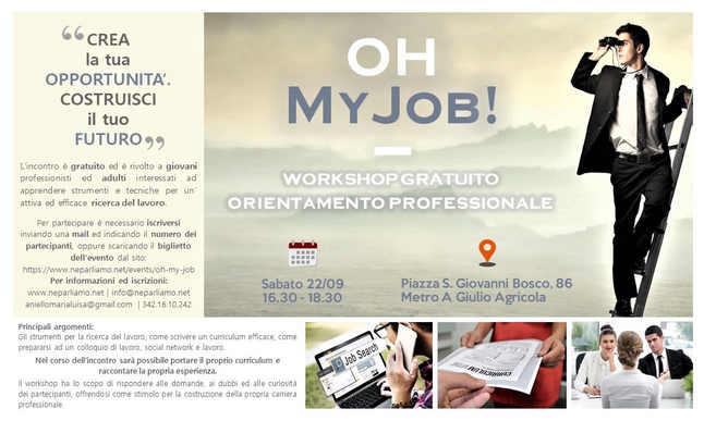 Workshop di Orientamento Professionale