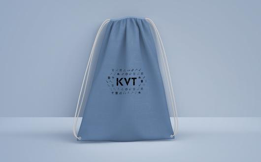 KVT Logo on bag.png