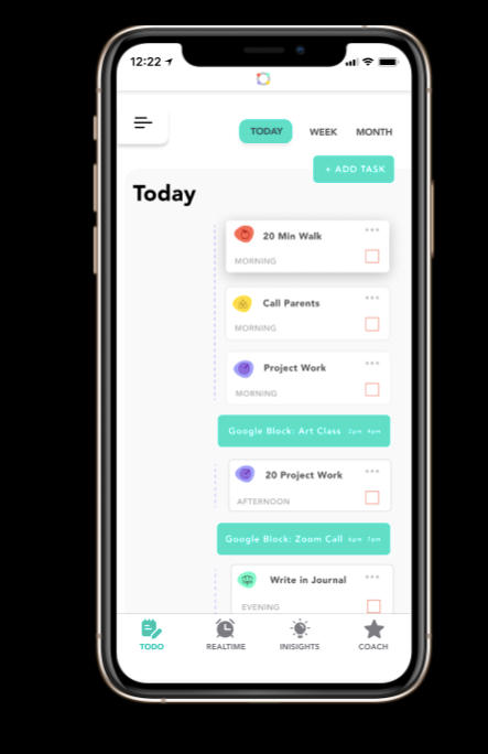 complete application to do list screen