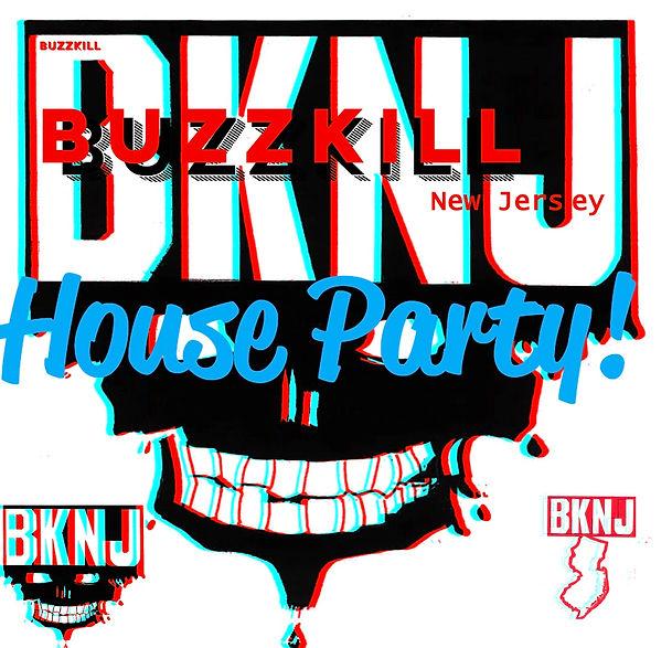 Buzzkill House Party logo