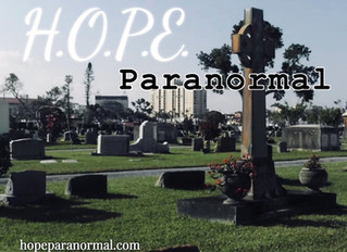 HOPE Paranormal Crossing Over