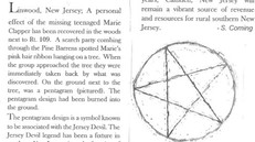 First Recorded Jersey Devil Victim