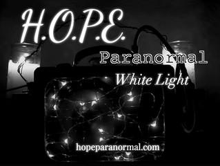 HOPE Paranormal White Light