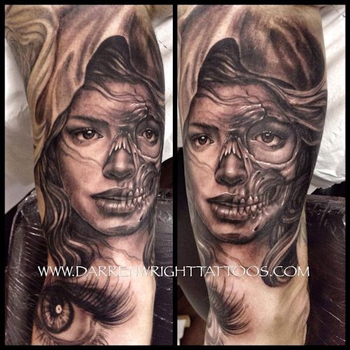 skull-girl-tattoo-black-and-grey-tattoos