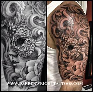 masquerade-venetian-mask-tattoo-darren-w
