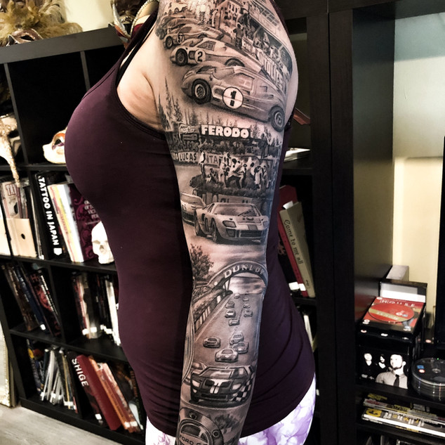 car-racing-tattoo-sleeve