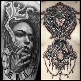 clock-tattoo-merged-girl-tattoos-smoke-jewellery-tattoos for women.jpg