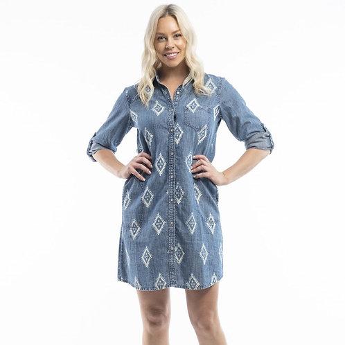 Barakka Dress Shift by Orientique