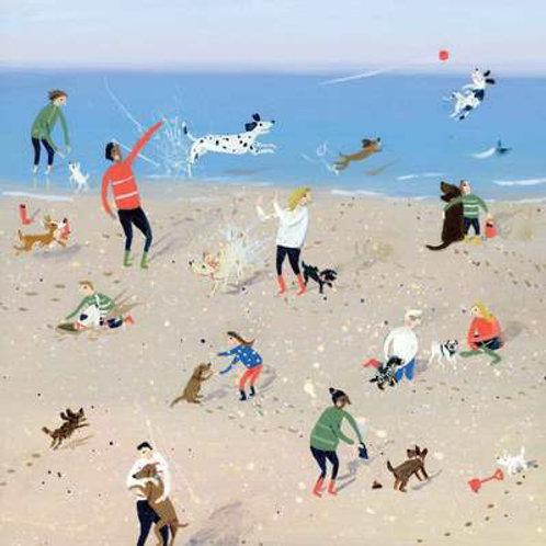 Card - Seaside Doggies
