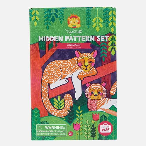 Hidden Patterns - Animals