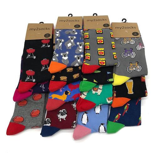 Patterned Socks By My2Socks