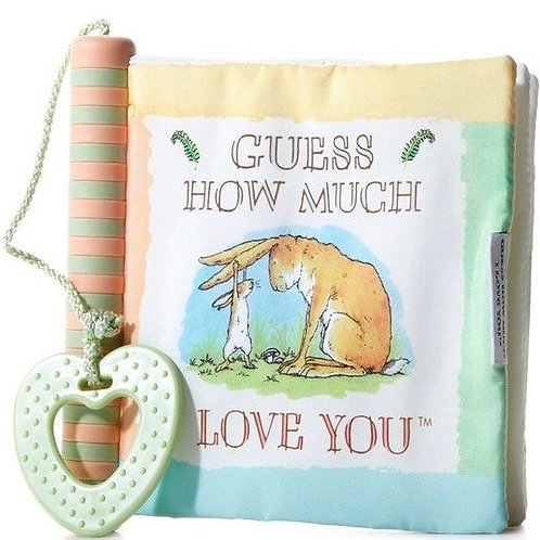 Guess How Much I Love You - Soft Book With Teether