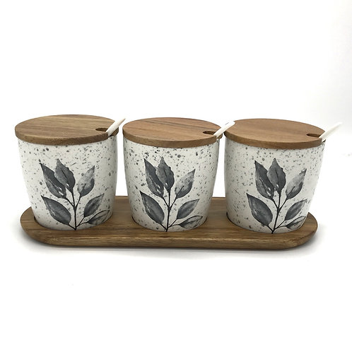 Revive Canister & Spoon Counter Set